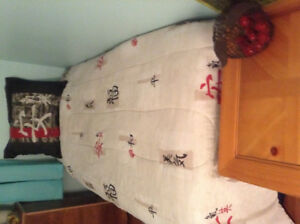 Twin Mattress box spring and f ame