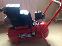 Sealey SA2420 Compressor 24l 2hp New