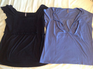 For Sale: Two XXL Breastfeeding Shirts (Thyme Maternity)