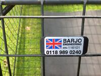 """Dog Cage """"Large"""" for 4 x 4, Land Rover - Range Rover - Jeep type car"""