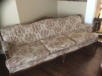 Antique French Provincial Sofa and other furniture