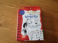 Diary of a wimpy kid large card game