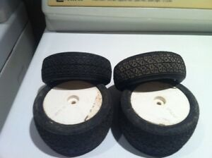 RC 1/10th offroad J-Concepts set mounted tires for sale