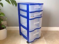 STORAGE SOLUTION ROTHO OPTIMO OFFICE ORGANISATION 4 DRAWER FILING CABINET TOWER UNITS