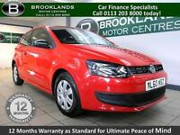 Volkswagen Polo 1.2 S 70PS [5X VOLKSWAGEN SERVICES and LOW MILES]