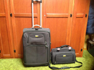 VIA RAIL CANADA SUITCASE AND CARRY ON