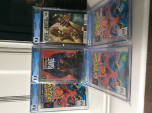 Selling Off 2 CGC Graded Modern Comic Books