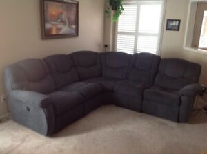 Dreamtime Lazy boy 6 seater 2 recliner's  sofa sectional