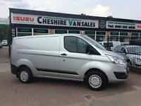 14 REG TRANSIT CUSTOM 2.2 270 TREND NEW SHAPE 200 VANS IN STOCK OPEN 7 DAYS