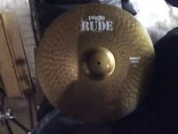 "Paiste Rude 20"" Power Ride Cymbal"