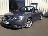 Saab 9-3 VECTOR 1.9 DIESEL CONVERTIBLE , 2009 LADY OWNER WITH GOOD S/H