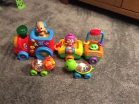 Baby toys bundle fisher price Mickey Mouse Thomas the tank and other