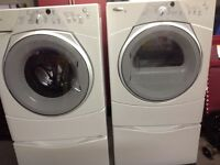 Whirlpool set with warranty