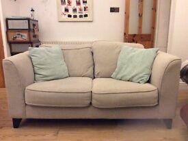 Grey 2-seater sofa in fantastic condition