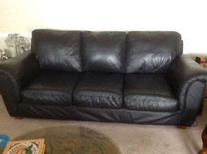 2 Leather Sofa's for one thousand dollars.
