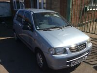 2004 SUZUKI ALTO GL SILVER MOT MARCH 2017 £30 ROAD TAX A YEAR