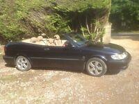Saab 9-3 convertable Auto 2003 £1500.00