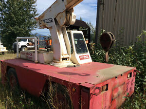 Simons AT60C Manlift /carry deck cranes / bucket truck. Prince George British Columbia image 4
