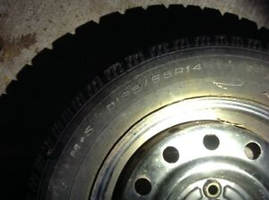 Winter tire and rims Kitchener / Waterloo Kitchener Area image 1