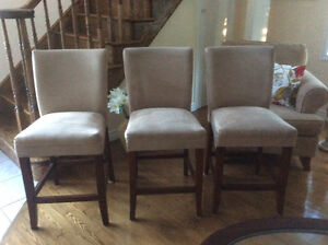 Strong and strudy bar chairs $30.00 each or 3 for $80.00
