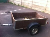 Trailers £100 each clearing out as not needed 8ft x3ft , 5ft x4ft x 6ft x 4ft