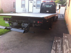 2004 C5500 21 feet tow truck with wheel lift