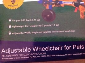 Wheel chair for dogs