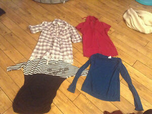 Maternity tops.