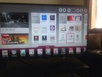 "LG 47"" smart led TV with freeview HD and Freesat and Magic remote"