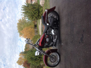 Totally customed 2005 HD softail deluxe