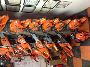 365 Husqvarna Chainsaws on sale 18 or 20 in bars