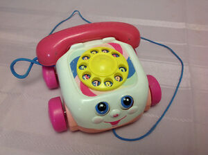 Pink Fisher Price Chatter Phone $5 Windsor Region Ontario image 2