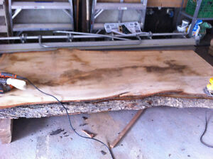 Live Edge Maple lumber for sale