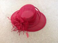 Beautiful Mother of the Bride wedding hat
