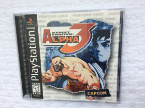 "Street Fighter ""Alpha 3"" (PS One) ~ Complete / Mint (from 1999)"