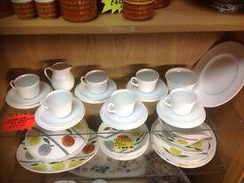 Wedge wood tea set