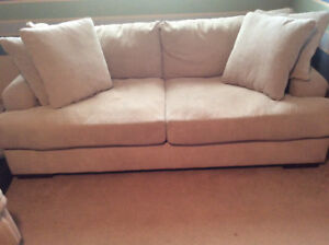 Comfy wide couch