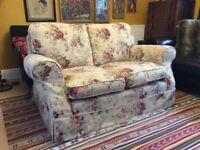Vintage style Laura Ashley two seater sofa