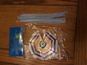 UMBRELLA STRAW KIT IS GREAT FOR DRINKING OUTDOORS