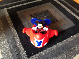 Mickey Mouse airplane