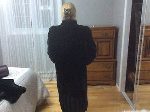 Manteau imitation de vison