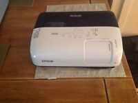 Epson projector and screen