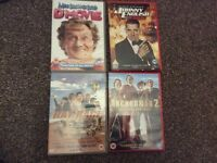 4 good condition DVDs