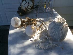 Lot de lampes décoratives
