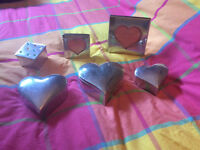 Trinket/Jewelry boxes and heart photo frames