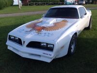 77 Pontiac firebird, Trans Am, low miles, Trades !!!,