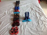 Boys shoe and sandal bundle