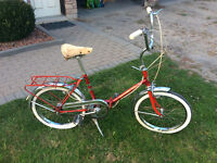 Vintage Folding-500 ,1970,s Canadian Tire Super Cycle bike