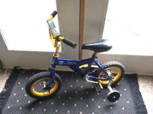 Little Boy's Bike with Training Wheels (Still Available)
