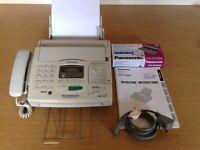 Fax Machine Panasonic KX-F1830E